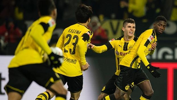 Bundesliga: Melhores momentos de Borussia Dortmund 1 x 1 Augsburg