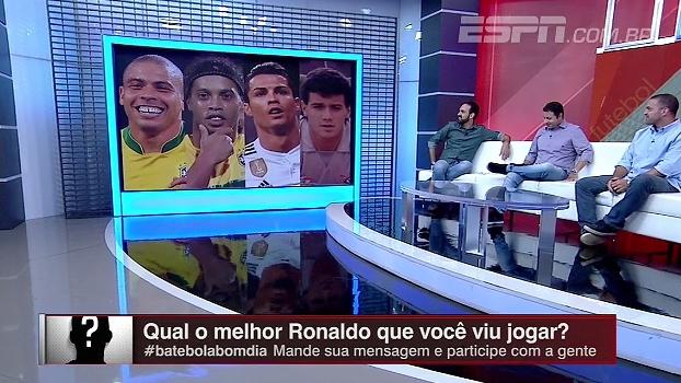 Comentaristas do Bate Bola elegem o melhor Ronaldo da história; veja