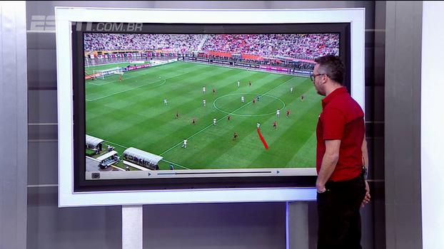 Virtudes e defeitos: Maurício Barros 'disseca' segundo gol do São Paulo contra o Fla