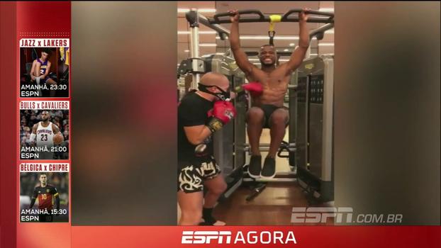 Evra volta a atacar nas redes sociais e posta vídeo dele treinando arte marcial