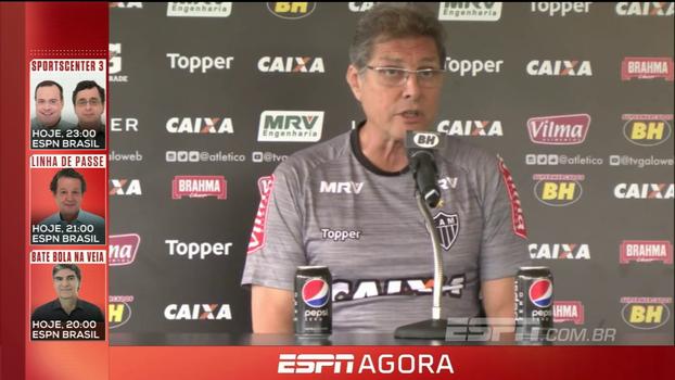 Oswaldo de Oliveira pede que Atlético-MG busque Libertadores 'até a última gota de suor'
