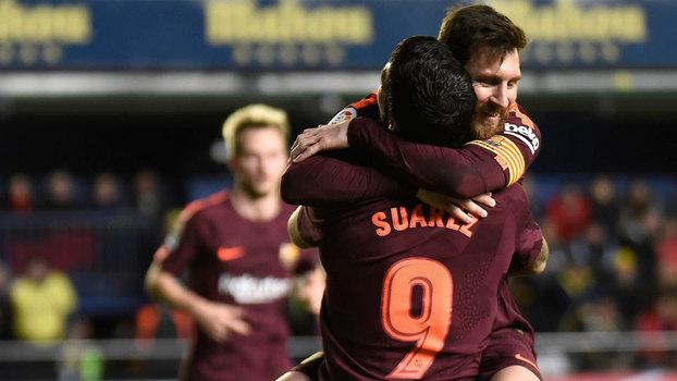 LaLiga: Gols de Villarreal 0 x 2 Barcelona