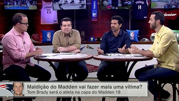 Zica? ESPN League brinca com 'maldição' de jogadores da NFL na capa do 'Madden'