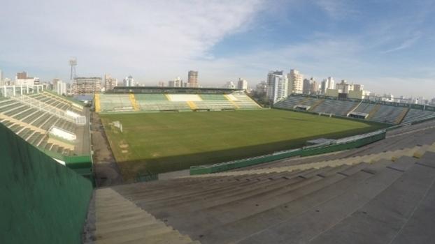 Chapecoense espera mais de 100 mil pessoas em velório na Arena Condá