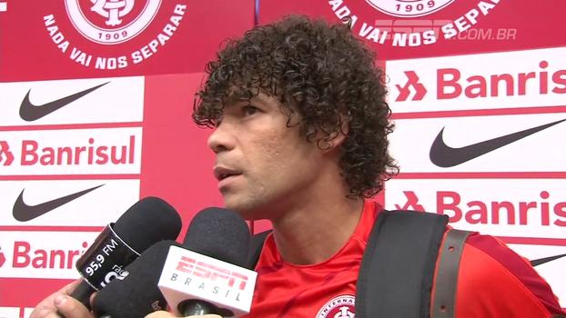 Camilo comenta assistência para gol de Nico López: 'Foi um lance de futevôlei'
