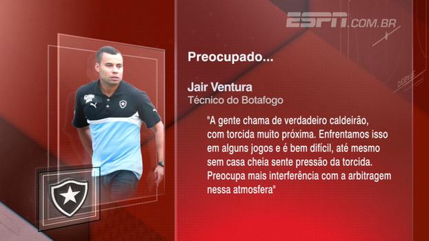 Jair se preocupa com arbitragem no Uruguai e Sálvio analisa árbitro da partida