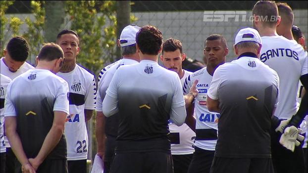 José Renato Ambrósio conta como foi a preparação do Santos para jogo contra o Barcelona-EQU