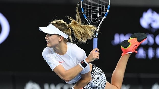 Eugenie Bouchard domina 1º set e avança no Australian Open sem dificuldades
