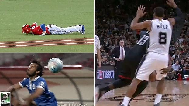 Lance completamente louco na MLB, 'mão-boba' na NBA e lateral ensaiado e mais: Ari Aguiar e o Not Top10