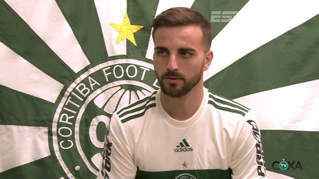 Reforço do Coritiba, Rafael Longuine já se põe à disposição de Marcelo Oliveira: 'Estou pronto'