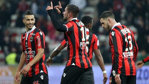 Francês: Gols de Nice 2 x 1 Montpellier