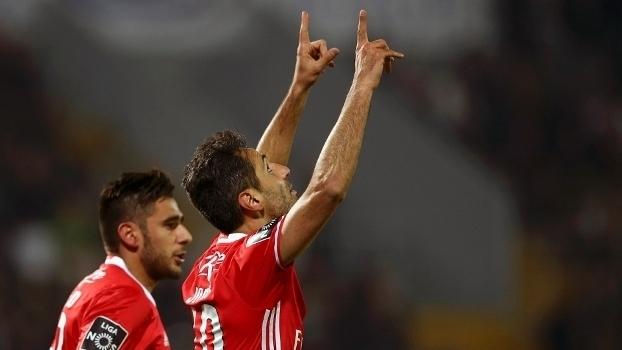 Português: Gols de Vitória de Guimarães 0 x 2 Benfica
