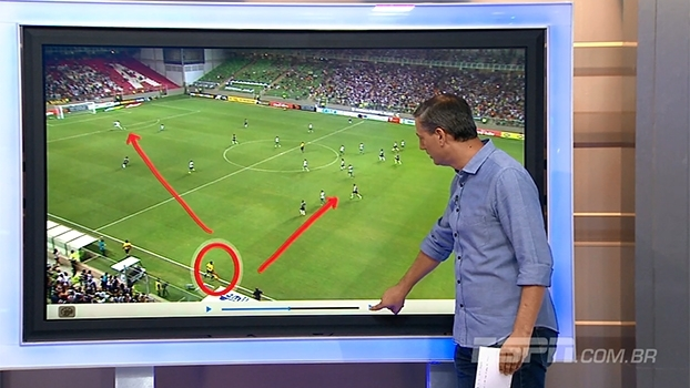 Para Salvio Spinola, auxiliar errou ao validar gol de Pratto na vitória do Atlético-MG