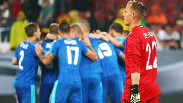 Assista aos melhores momentos da vitória da Eslováquia sobre a Alemanha por 3 a 1