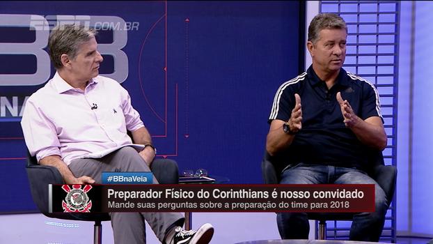Preparador físico diz: 'O Corinthians é uma referência nas questões nutricional e recuperação'