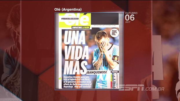 Marra vê jogo complicado para Argentina contra o Equador: 'Difícil'
