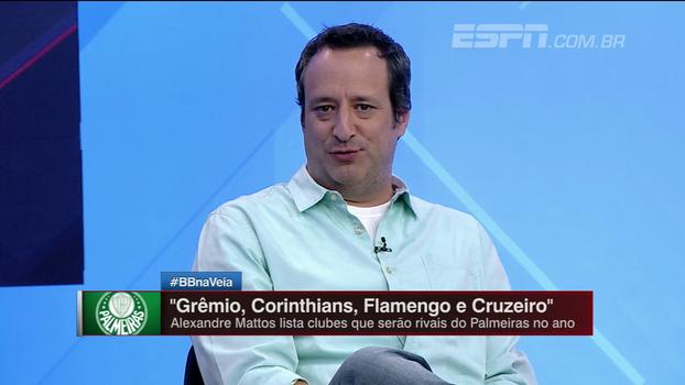 Gian Oddi analisa entrevisa de Alexandre Mattos e diz que Palmeiras segue entre favoritos