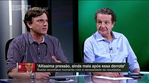 Mauro responde 'viúvas rubro-negras de Zé Ricardo' e diz que saída do técnico do Fla foi necessária