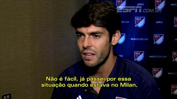 Como torcedor, Kaká gostaria de ver Neymar no PSG; como amigo, torce para que ele ouça quem o ama; veja