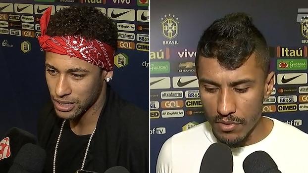 Neymar exalta importância de Tite no elenco; Paulinho fala das assistências em vitória do Brasil