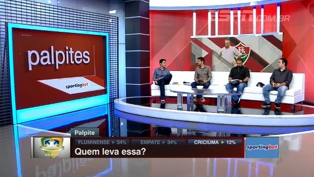 Fluminense x Criciúma: Quem leva? Comentaristas do BB Debate dão palpite
