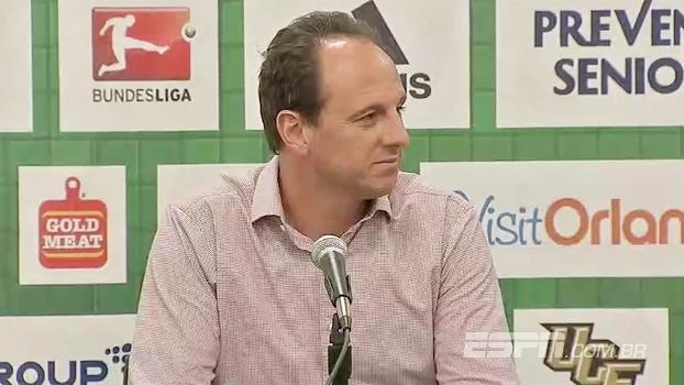 Após título, Ceni elogia Florida Cup e comemora: 'Muito feliz e satisfeito'