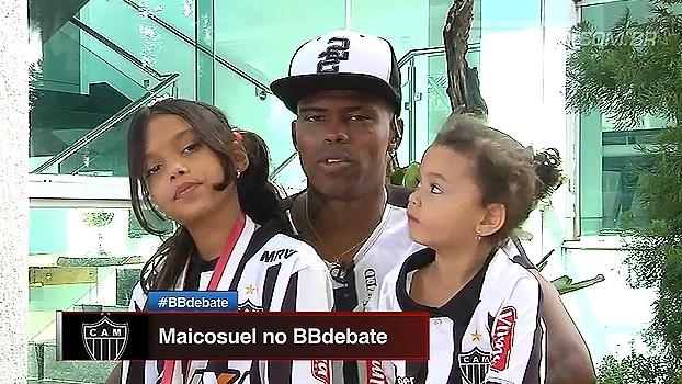 Maicosuel, sobre ambiente no Atlético-MG: 'Um dos melhores elencos dentro e fora de campo; temos muita afinidade'