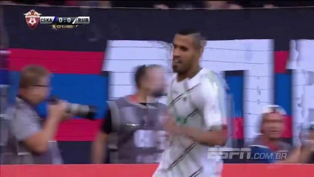 Em jogo de começo elétrico, Jonathas faz dois, e Rubin Kazan vence CSKA Moscou pelo Russo