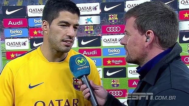 Suárez minimiza artilharia e cita 'confiança' para explicar por que deixou Neymar bater pênalti