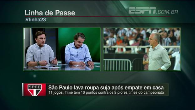 Mauro questiona discurso de Dorival e avalia fragilidade defensiva do São Paulo: 'Tem problemas muito sérios'