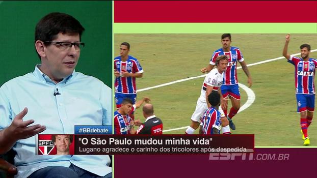 Unzelte destaca números de Lugano no São Paulo e exalta relação com o torcedor: 'Isso, ninguém nunca vai apagar'