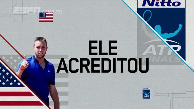 Sock supera Zverev, vence a segunda partida no ATP Finals e avança para as semifinais
