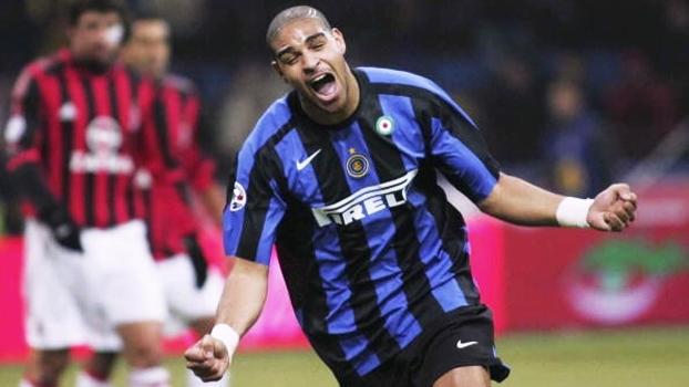 Adriano 'Imperador' fez 2 gols e comandou vitória da Inter sobre o Milan em 2005; relembre