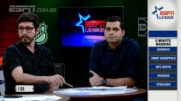 ESPN League: veja o Two Minute Warning sobre a semana 14 da NFL