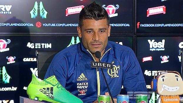 Ederson se diz 'motivado e feliz' por volta ao Flamengo depois de 10 meses lesionado