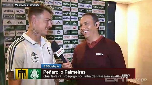 Róger Guedes esclarece 'trote' no Palmeiras e exalta amizade do grupo: 'Na tristeza ou na vitória, estamos sempre juntos'