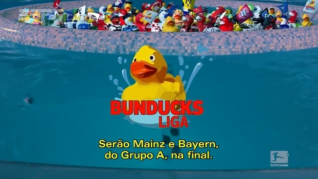 BunDucksLiga: veja os duelos da fase de grupos do torneio alemão de corrida de patos de borracha
