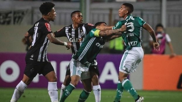 Brasileiro: Gols de Atlético-MG 1 x 1 Palmeiras