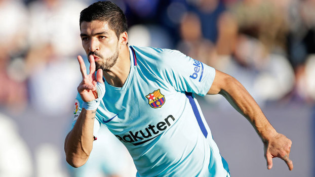 Assista aos gols da vitória do Barça por 3 a 0 sobre o Leganés pela LaLiga