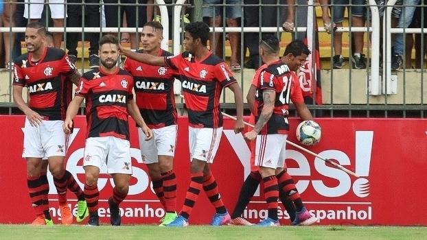 Carioca - semifinal da Taça Guanabara: Gol de Flamengo 1 x 0 Vasco