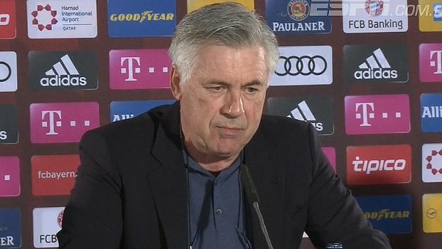 Ancelotti lamenta pouco descanso, mas pede concentração extra para jogo contra o Hertha Berlim