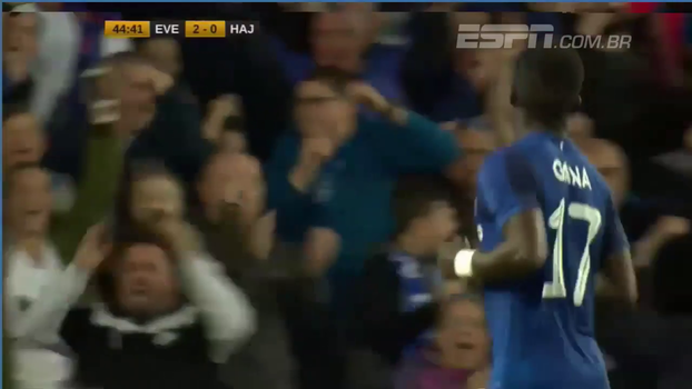 UEFA Europa League: Gols de Everton 2 x 0 Hajduk Split
