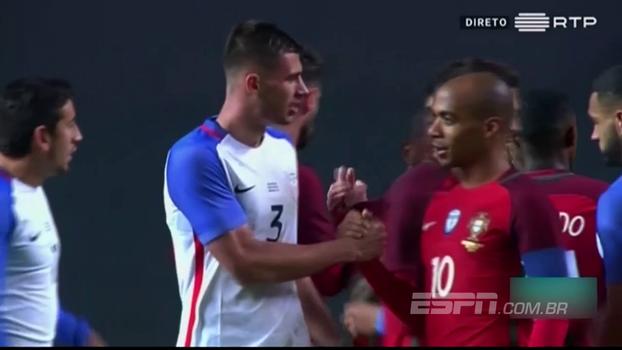Assista aos gols do empate entre Portugal e Estados Unidos em 1 a 1!