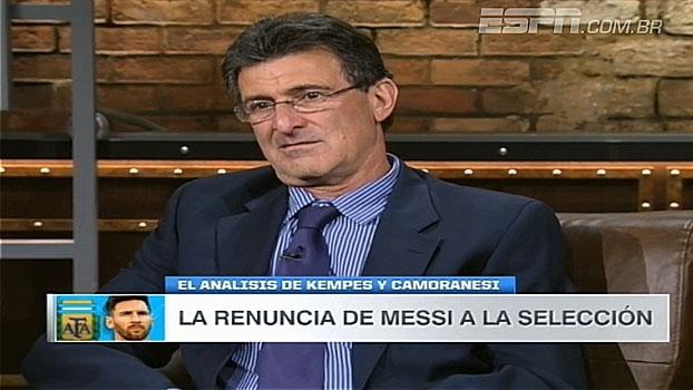 Para Mario Kempes, decisão de Messi foi precipitada e minimiza críticas: 'Sempre querem uma satisfação'