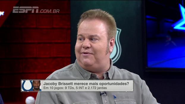 Jacoby Brissett merece mais oportunidades? Veja os comentários do 'ESPN League'