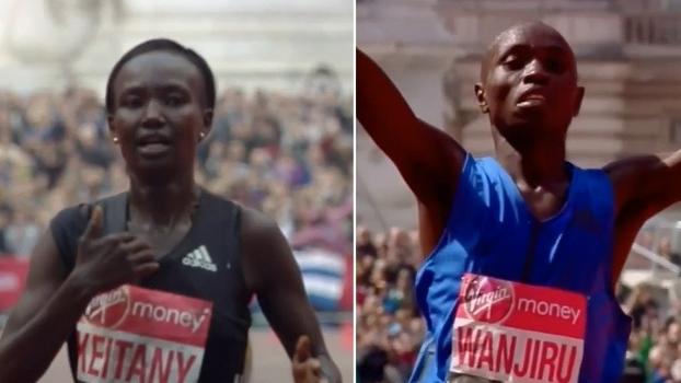 Quenianos Mary Keitany e Daniel Wanjiru vencem na Maratona de Londres