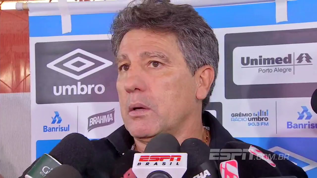 Renato Gaúcho: 'O Corinthians vai despencar. Anote o que eu estou falando'