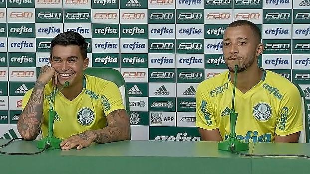Dudu e Vitor Hugo falam sobre a entrevista polêmica de Felipe Melo: 'O homem é ousado'