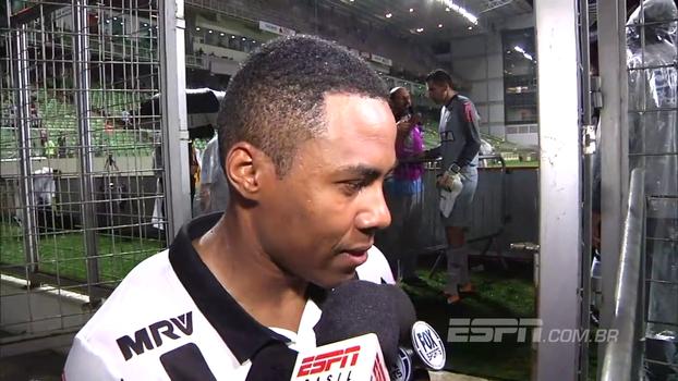 Elias fala em buscar Libertadores até o final; Leonardo Silva explica lance do seu gol