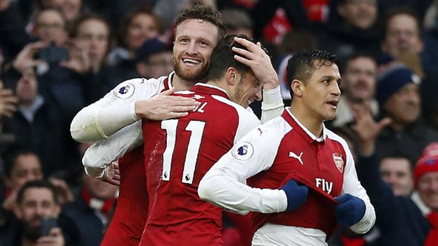 Veja os melhores momentos da vitória do Arsenal sobre o Tottenham por 2 a 0 pela Premier League